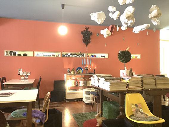 ロマロマの店内写真