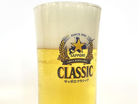 ビールのアップ写真