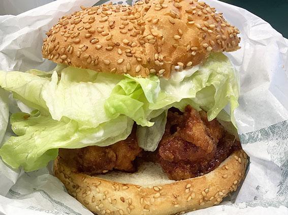 チャイニーズチキンバーガーの写真
