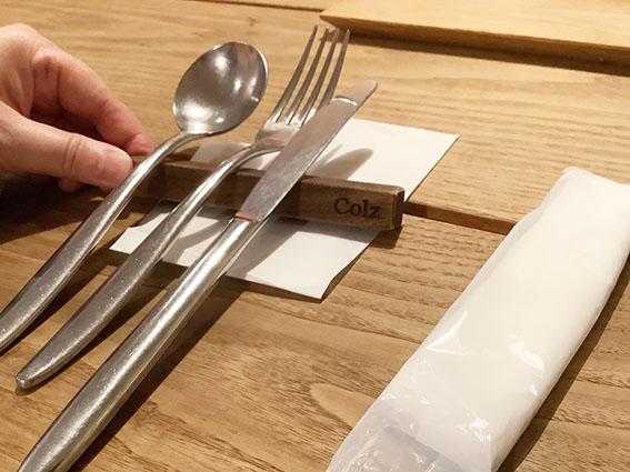 コルツのテーブルの写真
