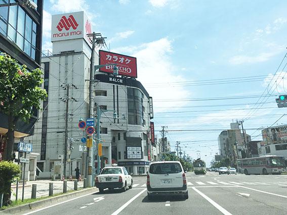 函館市の繁華街・五稜郭