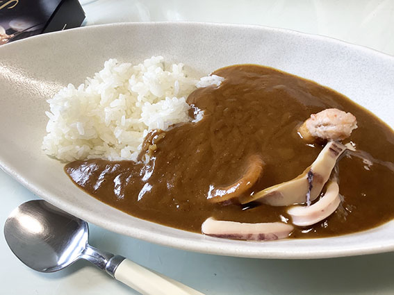 海鮮カレーの写真