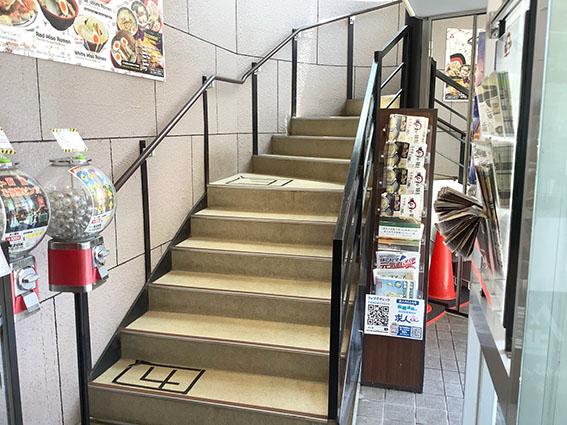 あじさい階段の写真