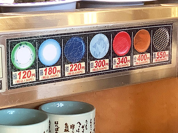 函太郎宇賀浦本店皿の写真