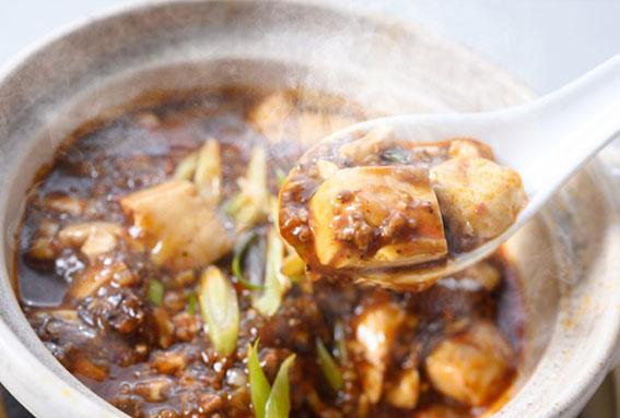 麻婆豆腐の写真