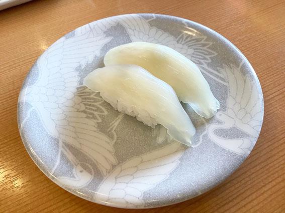 朝とれ真イカ300円