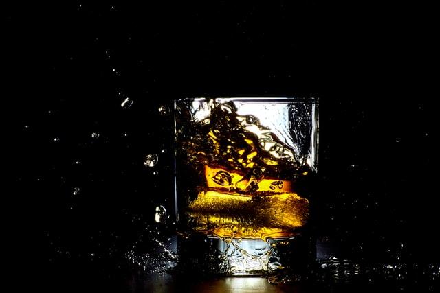 お酒のアップ写真