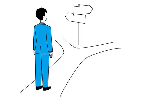 進路の画像