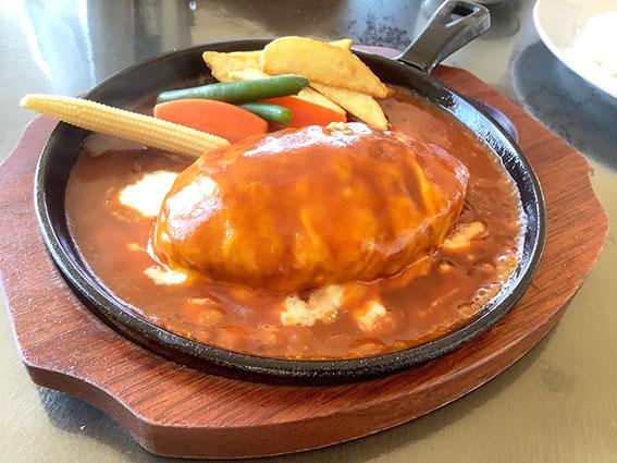 チーズハンバーグの写真