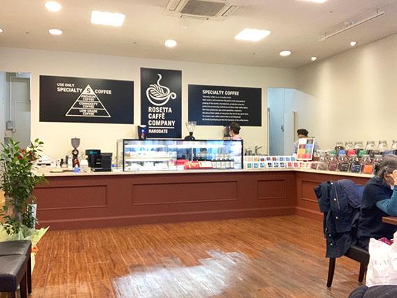 ロゼッタカフェカンパニーの店内写真