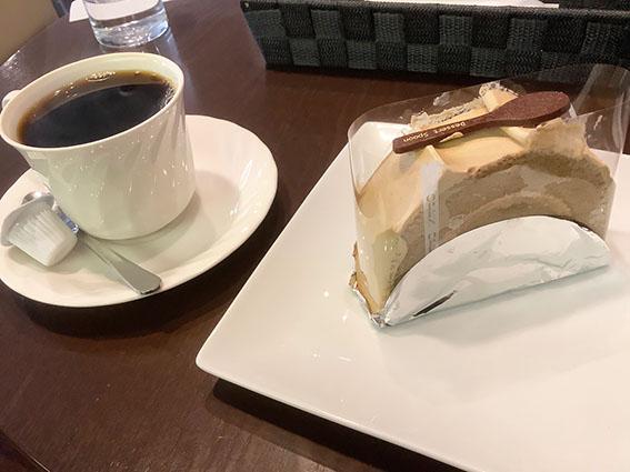 函館美鈴大門店のケーキセットの写真