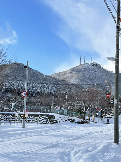 唐草館は函館山の麓