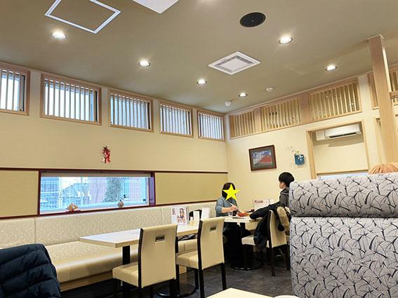 うにむらかみ函館駅前店の店内写真