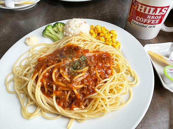ミートソーススパゲティの写真
