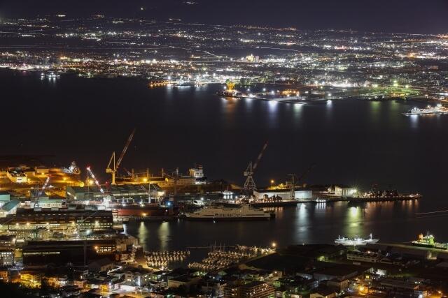 函館ベイエリア夜景の写真