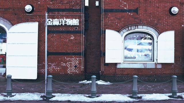 函館赤レンガ倉庫写真