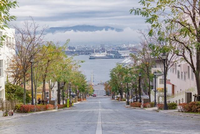 函館の坂の写真