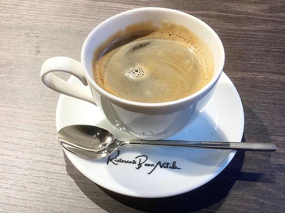 ボンナターレのコーヒー写真