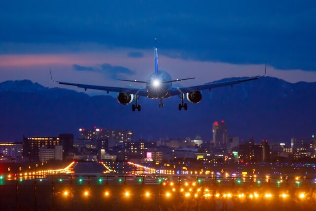 函館空港の写真