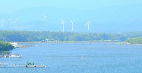 青森県・十三湖の画像
