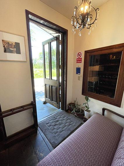 ラ クチーナ ヴェンティトレの玄関写真