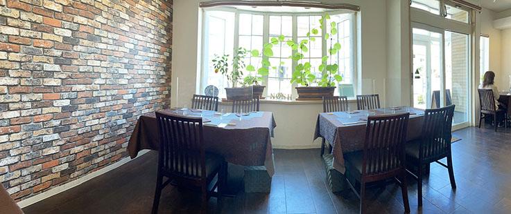 イタリアンレストランノッシュの店内写真