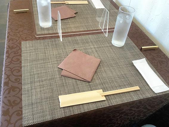 ノッシュのテーブルの写真