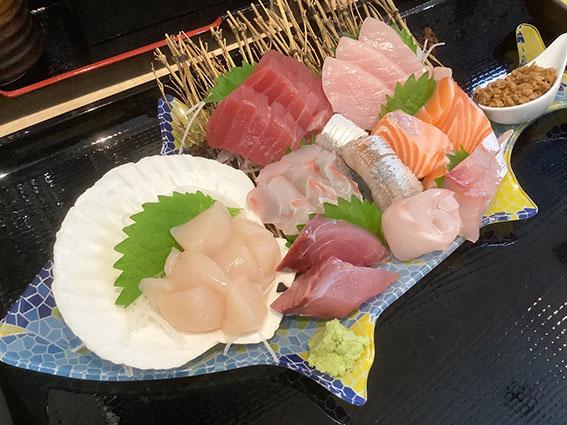 gyogyoの刺身定食のアップ写真