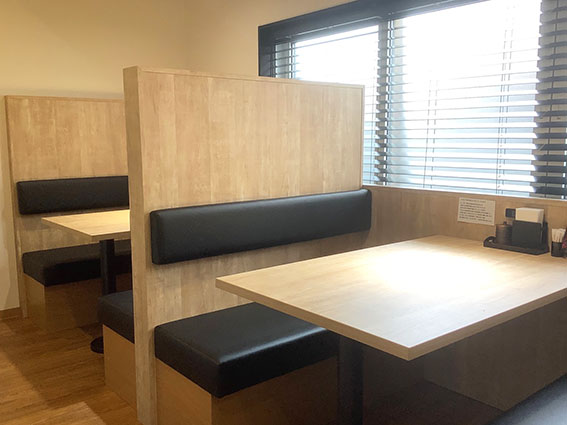 gyogyoのテーブル席写真